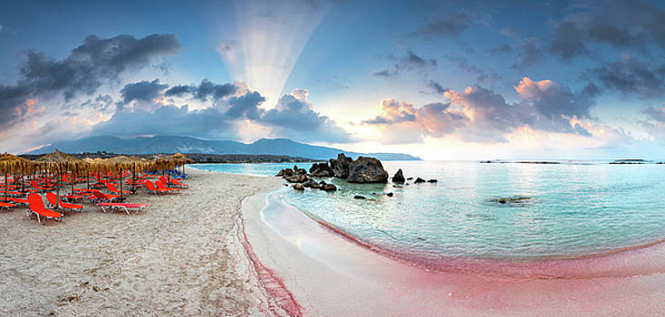 Elafonissi Beach by Evgeni Dinev
