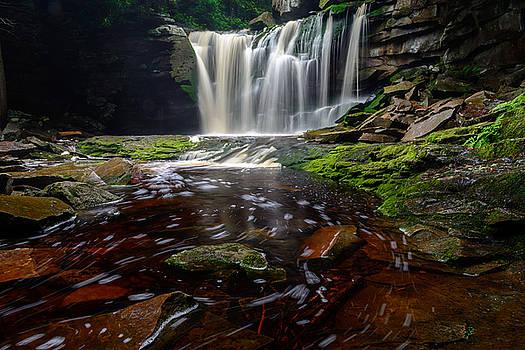 Elakala Falls #11 by Dan Girard