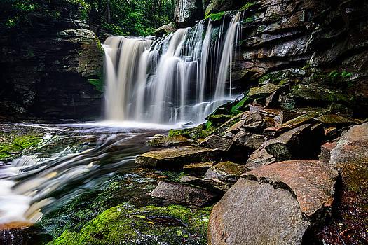 Elakala Falls #1 by Dan Girard