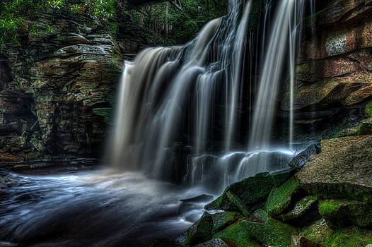 Elakala Falls #2 by Dan Girard