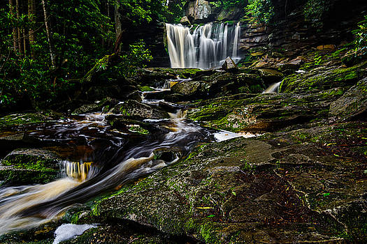 Elakala Falls #5 by Dan Girard