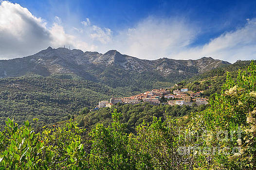 Elba - Marciana village by Antonio Scarpi