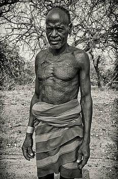Elder Hamar Man of Ethiopia by Nichon Thorstrom