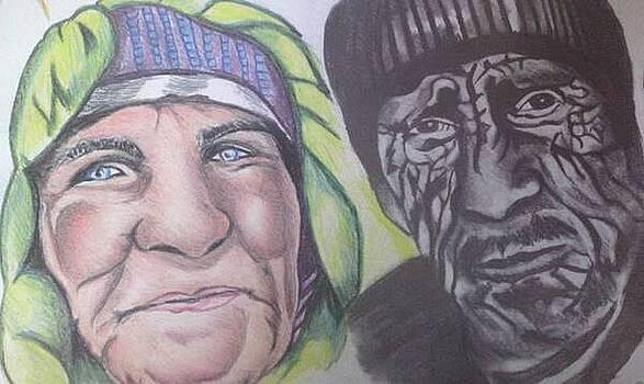 Elderly Couple by Pauline Murphy