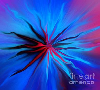 Electric Blue 2 by Trena Mara