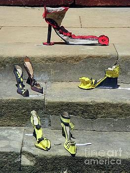 Elegant Sandals by Jasna Dragun