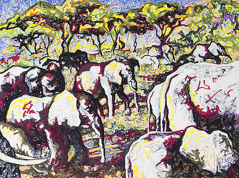 Elephant #4 by Dale Beckman