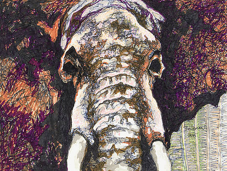Elephant #6 by Dale Beckman