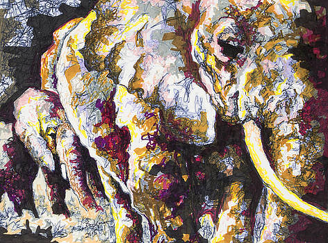 Elephant #7 by Dale Beckman
