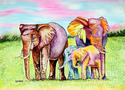 Elephant Aura by Maria Barry