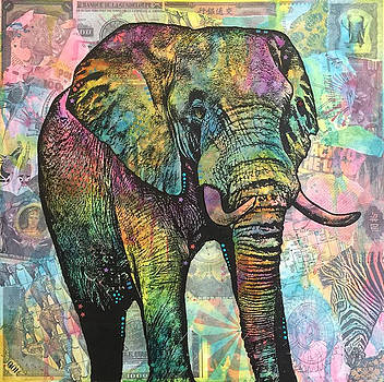 Elephant Back To The Land by Dean Russo
