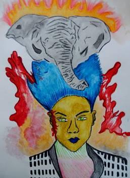 Elephant Thunder  by Nicole Burrell
