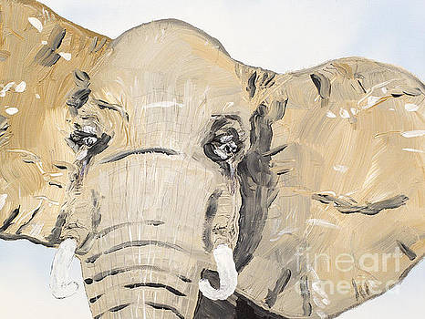 Elephant Up Close by Patrick Grills