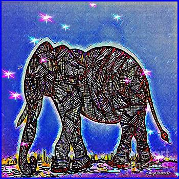 Elephants Mean Widson  by MaryLee Parker