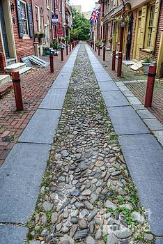 David Zanzinger - Elfreths Alley Philadelphia 2