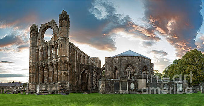 Elgin Cathedral by Jane Rix