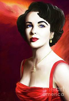 Elizabeth Rosemond Taylor by Sydne Archambault