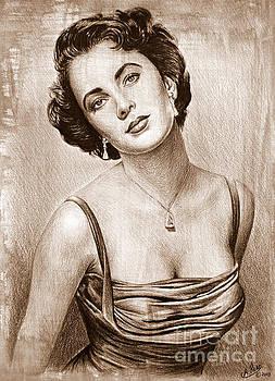 Elizabeth Taylor by Andrew Read