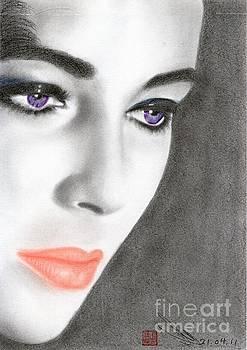 Elizabeth Taylor by Eliza Lo