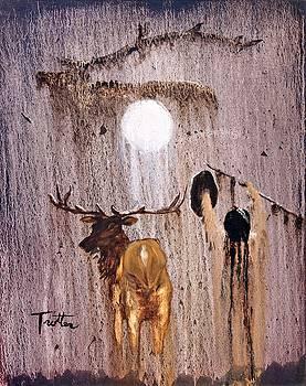 Elk Spirit by Patrick Trotter