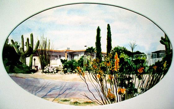 Ellen's Hacienda by Bill Meeker