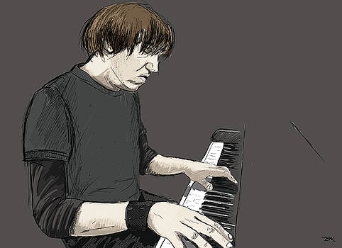 Elliott Smith by Danielle Mathieux