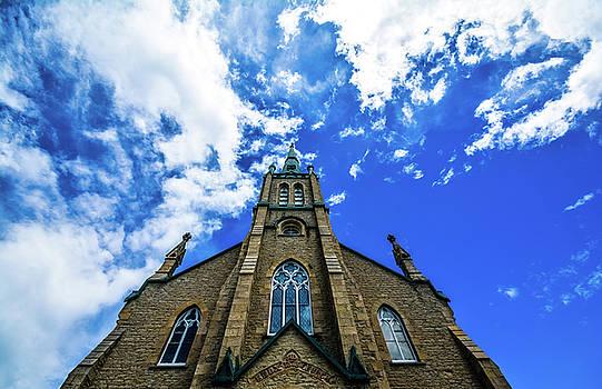 Elora Church by Karl Anderson