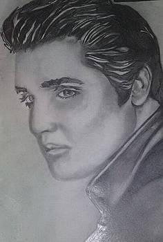 Elvis Presley by Pauline Murphy