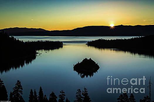 Emerald Bay Summer Solstice by Mitch Shindelbower