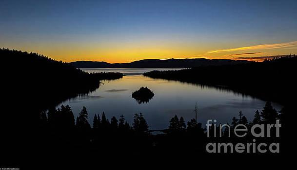 Emerald Bay Sunrise by Mitch Shindelbower
