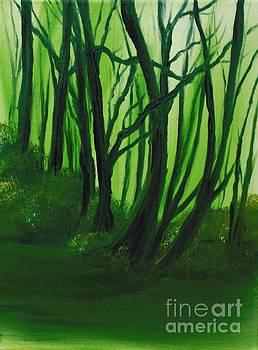Emerald Forest. by Cynthia Adams