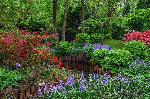 Jenny Rainbow - Emerald Green of Spring  Keukenhof. Holland