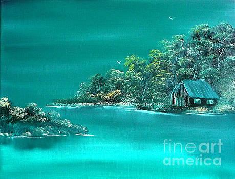 Emerald Isle 2 by Cynthia Adams