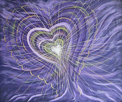 Emerging Heart by Judy M Watts-Rohanna