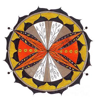 Emerging Spirit Mandala by Nancy TeWinkel Lauren