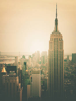 Empire State Building - New York City by Vivienne Gucwa