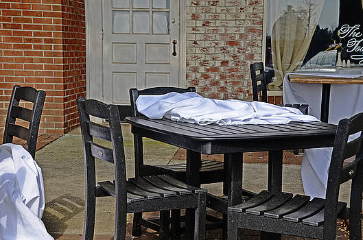 Empty Chairs at Empty Tables by Linda Brown