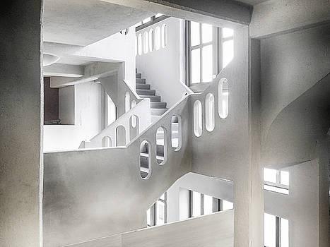 Empty White Space by Joachim G Pinkawa
