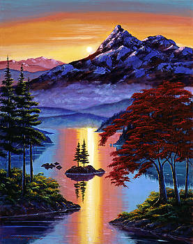David Lloyd Glover - Enchanted Reflections