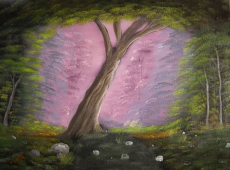 Enchanted Tree by David  Barnes