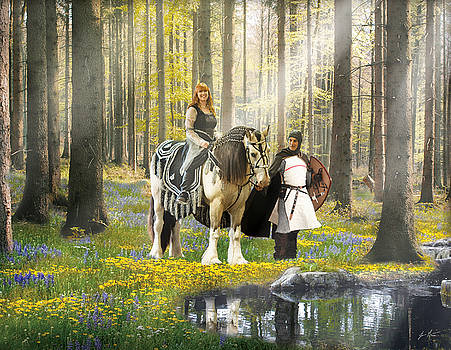 Enchanted Woodland Gypsy by Jamie Mammano