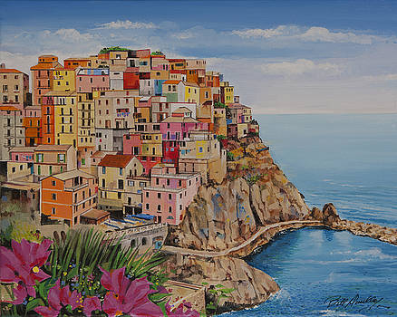 Enchanting Cinque Terre by Bill Dunkley