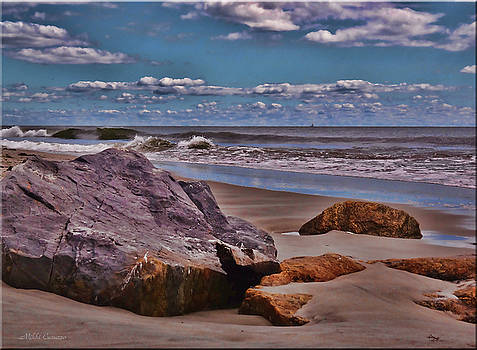End of Summer Seascape by Mikki Cucuzzo