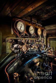 Adrian Evans - Engine Room