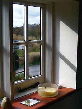 Yvonne Ayoub - England Arundel Castle through the window