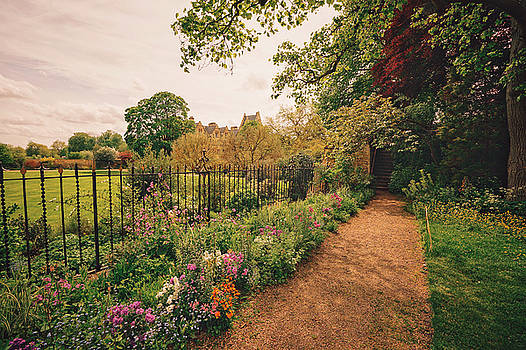 England - Country Garden and Flowers by Vivienne Gucwa