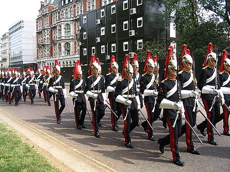 Yvonne Ayoub - England London Guardsmen