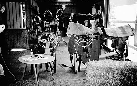 English and Western Riders Tack Room by Peggy Leyva Conley