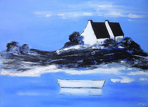 English Coast1 by Gloria Dietz-Kiebron