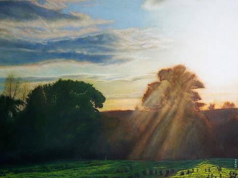 English Countryside by David Rives